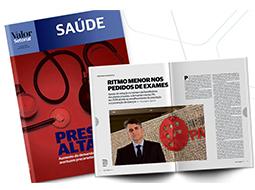 Revista Setorial Saúde do Jornal Valor Econômico utiliza dados do Painel Abramed