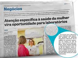 Dados do Painel Abramedforam utilizados em matéria do Jornal DCI