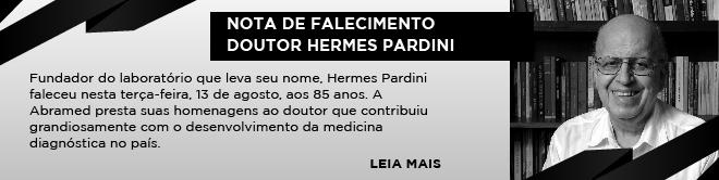 NOTA DE FALECIMENTO - DOUTOR HERMES PARDINI