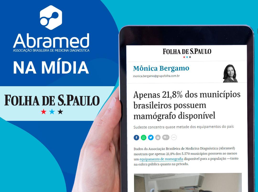 Apenas 21,8% dos municípios brasileiros possuem mamógrafo disponível