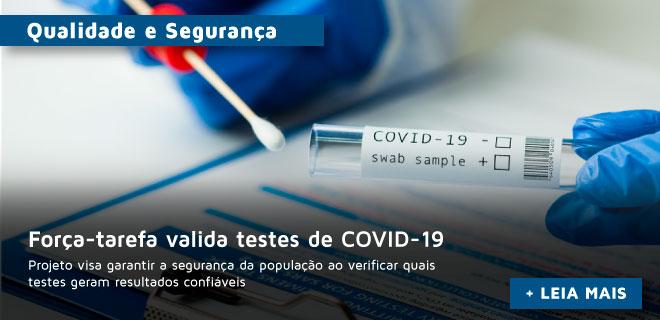Em força-tarefa, setor privado valida testes de COVID-19