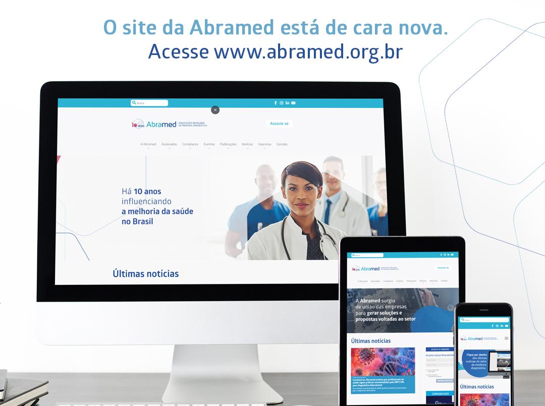 Abramed lança novo site
